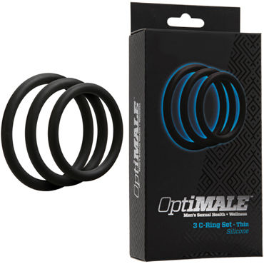 Doc Johnson Optimale 3 C-Ring Set Thin, ����� ������ ����������� �����