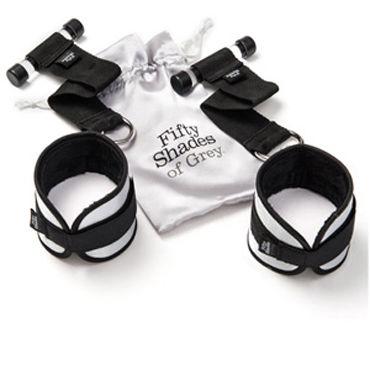 Fifty Shades of Gray Ultimate Control Мягкие наручники с фиксацией на дверь