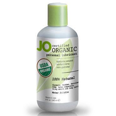 System JO Organic, 240мл Гипоаллергенный натуральный лубрикант на водной основе