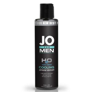 System JO for Men H2o Cooling, 125мл Мужской охлаждающий лубрикант на водной основе