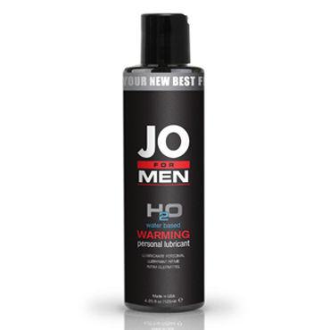System JO for Men H2o Warming, 125мл Мужской согревающий лубрикант на водной основе