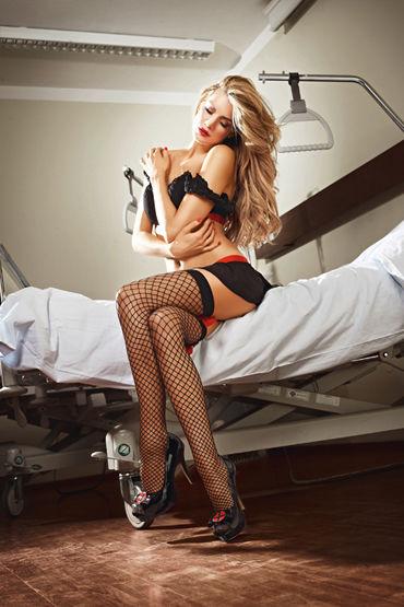 Baci Dreams Nurse Patch Чулки к костюму знойной медсестры