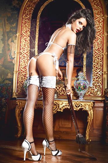 Baci Dreams Five Star French Maid Чулки в крупную сетку