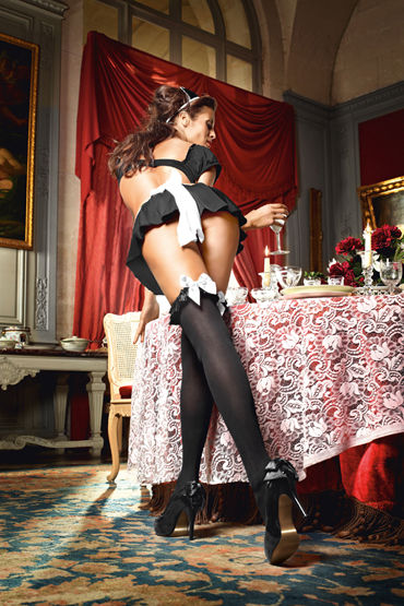 Baci Dreams Mischievous French Maid Высокие чулочки