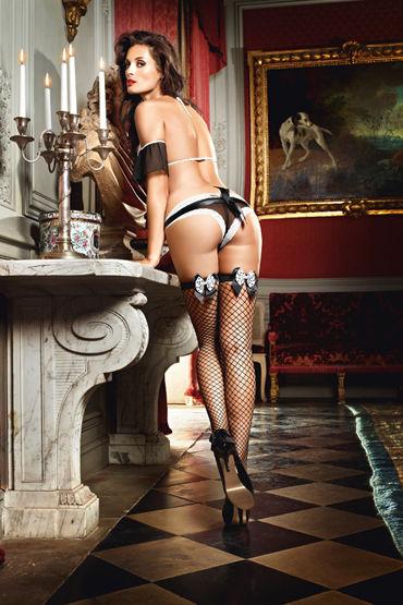 Baci Dreams Careless French Maid Высокие чулки в крупную сетку
