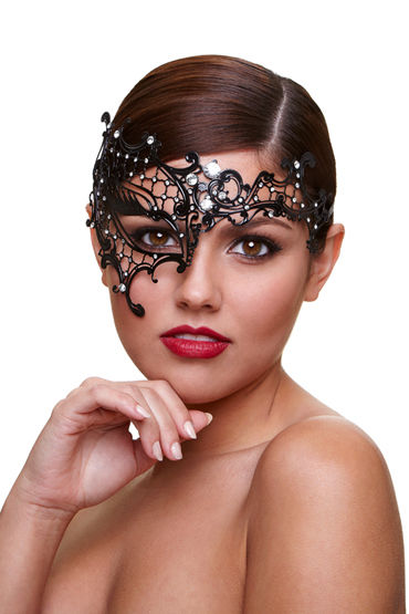 Baci Dreams Mask Seductress, Маска со стразами