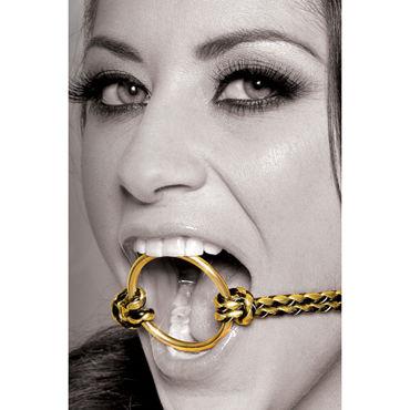 Pipedream Fetish Fantasy Gold Open Mouth Gag Расширитель для рта