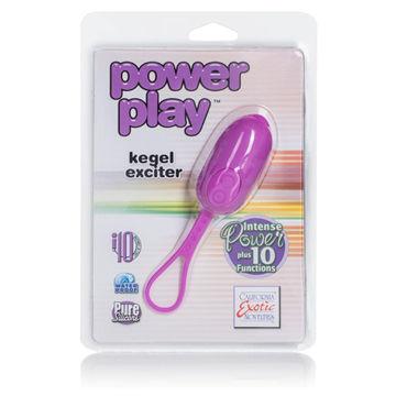 California Exotic Power Pla Kegel Exciter, фиолетовое Компактное виброяйцо
