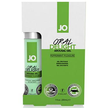 System JO Oral Delight Peppermint Pleasure, 30мл Ментоловый лубрикант для оральных ласк