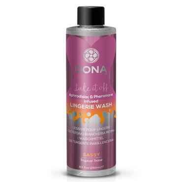 """Dona Lingerie Wash Sassy Aroma Tropical Tease, 250 мл Кондиционер для белья с ароматом """"Страсть"""""""