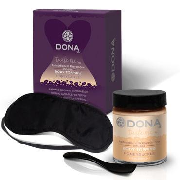 Dona Body Topping Honeysuckle, 59 мл Карамель для тела со вкусом мёда