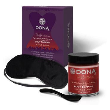 Dona Body Topping Maple Sugar, 59 мл Карамель для тела со вкусом жженого сахара