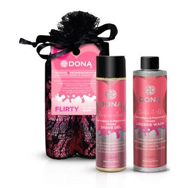 """Dona Be Sexy Gift Set - Flirty Гель для душа и кондиционер для белья с ароматом """"Флирт"""""""