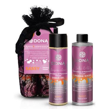"""Dona Be Sexy Gift Set - Sassy Гель для душа и кондиционер для белья с ароматом """"Страсть"""""""