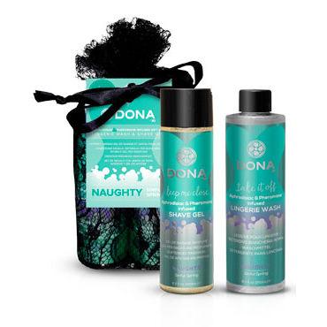 """Dona Be Sexy Gift Set - Naughty Гель для душа и кондиционер для белья с ароматом """"Шалость"""""""
