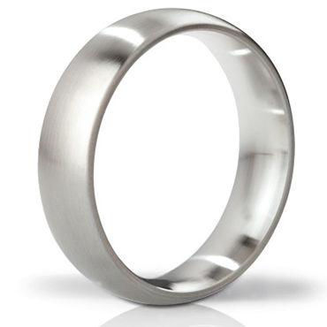 Mystim The Earl brushed, 55 мм Стальное эрекционное кольцо, матовое