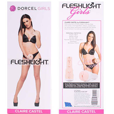 FleshLight Dorcel Girls Claire Castel Копия вагины порно-звезды Клэр Кастель