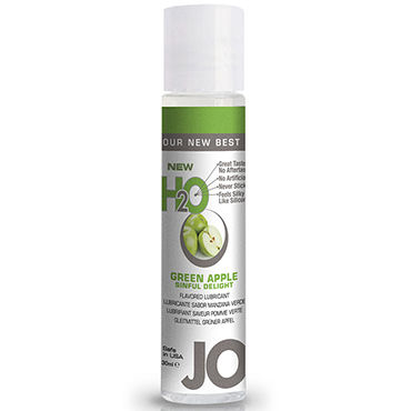 System JO Flavored Green Apple Delight H2O, 30 мл Лубрикант на водной основе со вкусом яблока