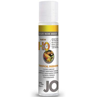 System JO Flavored Tropical Passion, 30 мл Лубрикант на водной основе с ароматом тропических фруктов