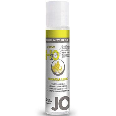System JO Flavored Banana Lick, 30 мл Лубрикант на водной основе с ароматом банана