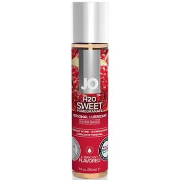System Jo Sweet Pomegranate, 30 мл Лубрикант на водной основе с ароматом граната