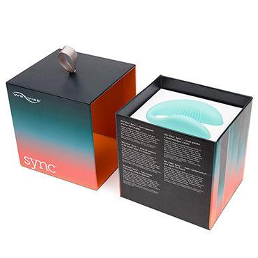We-Vibe Sync, голубой Вибратор для пар, подстраивающийся под анатомические особенности тела
