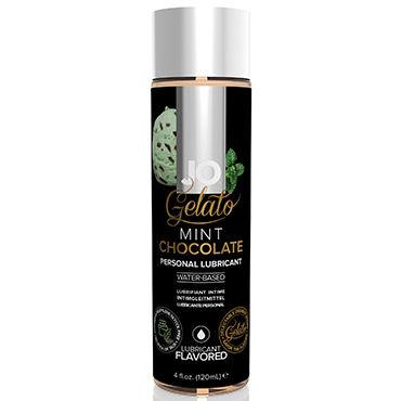 """System JO Gelato Mint Chocolate, 120 мл Лубрикант на водной основе со вкусом """"Мятный шоколад"""""""