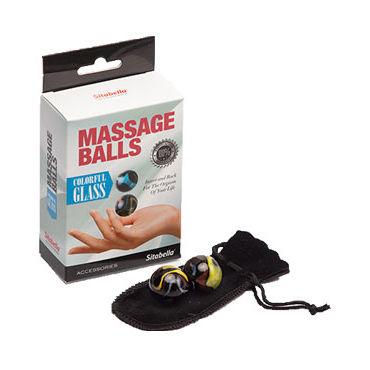 Sitabella Massage Balls Colorfil Glass Стеклянные массажные шарики