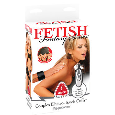 Pipedream Shock Therapy Couples Electro-Touch Cuffs Наручники для электростимуляции