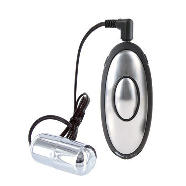 Pipedream Shock Therapy Silver Bullet Пуля для электростимуляции