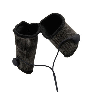 Pipedream Shock Therapy Cock Sock Насадки на мошонку и пенис для электростимуляции черные