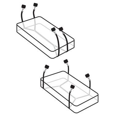 Pipedream Wraparound Mattress Restrain Фиксаторы для кровати
