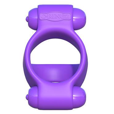 Pipedream Fantasy C-Ringz Squeeze Play Couples Ring Эрекционное кольцо с двумя виброэлементами