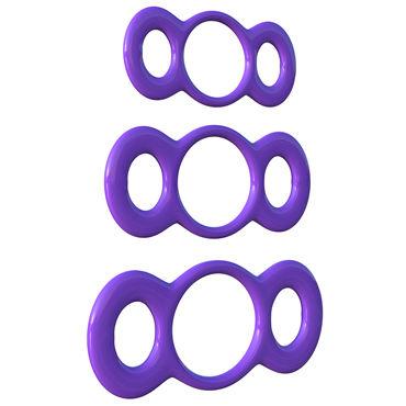 Pipedream 3-Ring Quick Release Trainer Set Набор эрекционных колец