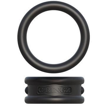 Pipedream Max Width Silicone Rings, черный Набор эрекцонных колец