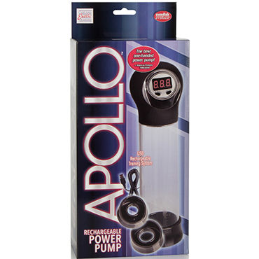 California Exotic Apollo Rechargeable Power Pump Автоматическая помпа