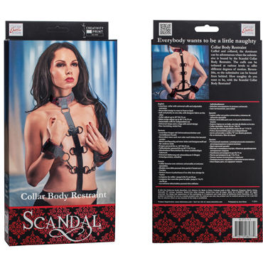 California Exotic Scandal Collar Body Restraint Фиксация для рук и шеи