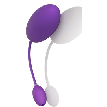 California Exotic Silhouette S4 Purple Вибро-яйцо с подогревом