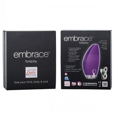 California Exotic Embrace Foreplay, фиолетовый Вибромассажер перезаряжаемый