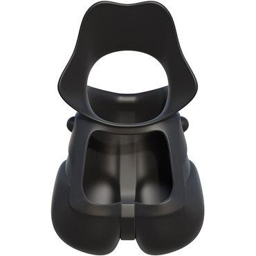Pipedream Rock Hard Ball Banger Эрекционное кольцо