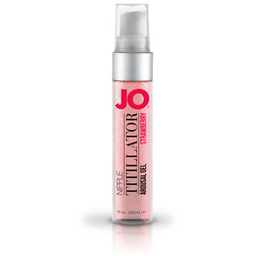 System Jo Nipple Titilator Electric Strawberry Ароматный стимулирующий гель для сосков, 30 мл