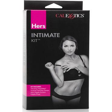 California Exotic Hers Intimate Kit Эротический набор зажимов на соски