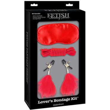 Pipedream Lovers Bondage Kit, красный Набор для интимных удовольствий