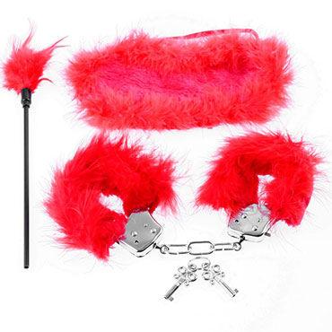 Pipedream Feather Fantasy Kit, красный Набор для интимных удовольствий