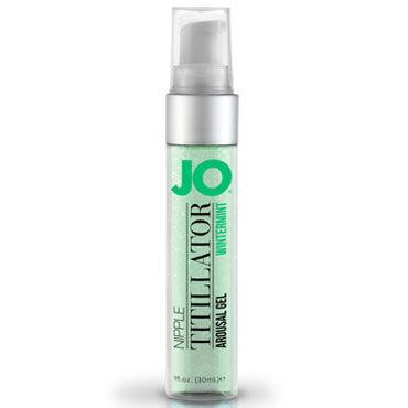 System JO Nipple Titillator Mens Winter Mint, 30мл Стимулирующий гель для сосков, мужской