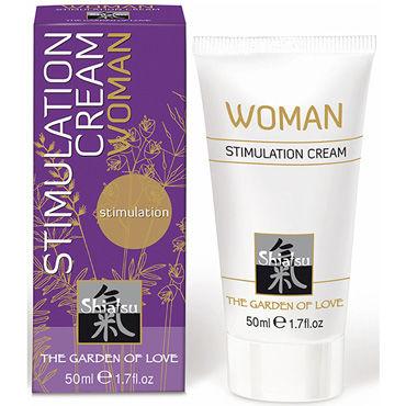 Shiatsu Stimulation Cream Woman, 50мл Стимулирующий крем для женщин
