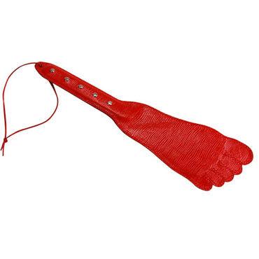 Sitabella хлопалка Ступня красный, С жесткой рукояткой