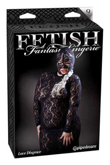 Fetish Fantasy Lingerie Lace Disgrace Кружевное платье с маской