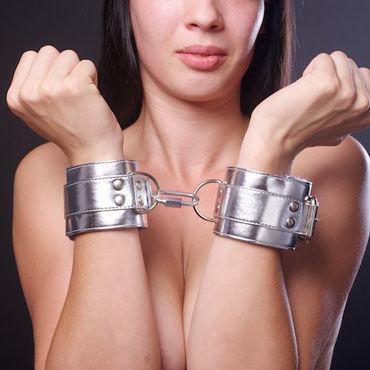 Sitabella наручники, серебристо-голубой, С подкладкой из искусственного меха