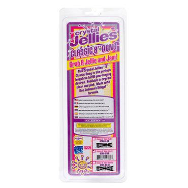 Doc Johnson Сrystal Jellies Classic Классический фаллоимитатор